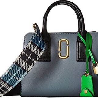 Marc Jacobs Women's Little Big Shot Satchel, Slate Multi, One Size