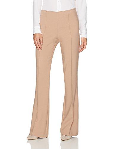 Trina Turk Women's Jacoba Luxe Drape Pintuck Pants, Camel, 10