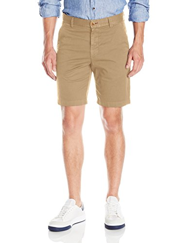 Robert Graham Men's Classic Fit Basic Flat-Front Woven Short