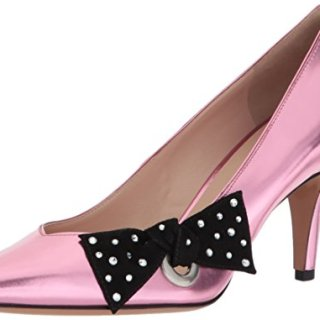 Marc Jacobs Women's Daryl Pointy Toe Pump, Pink, 37 M EU (7 US)