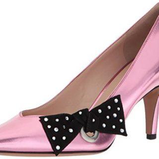 Marc Jacobs Women's Daryl Pointy Toe Pump, Pink, 37 M EU (7 US)