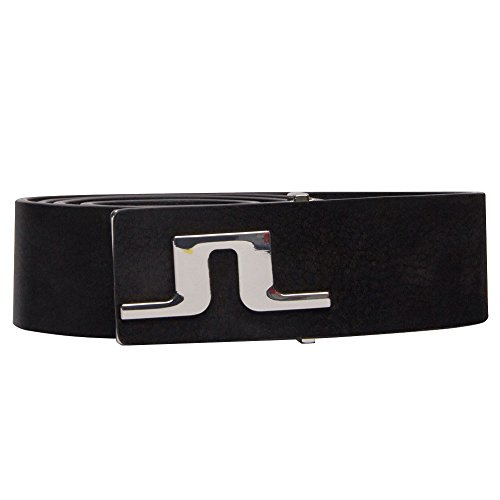 J.Lindeberg Carter Brushed Leather Golf Belt 2018 76MG Black 30