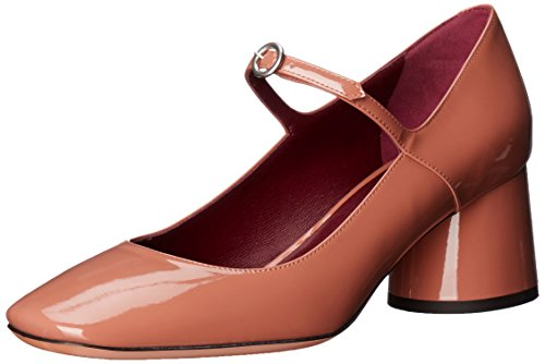 Marc Jacobs Women's Nicole Mary Jane Dress Pump, Nude, 38 EU/8 M US