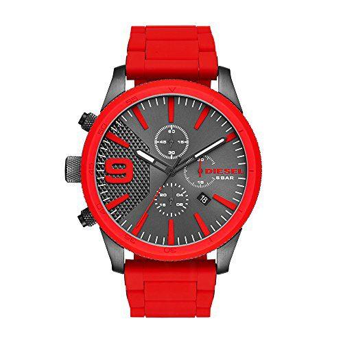 Diesel Men's RASP Chrono Red Watch