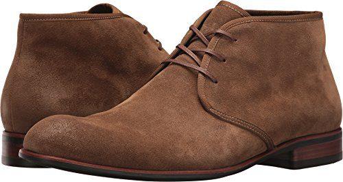 John Varvatos Men's Seagher Chukka Boot Brownstone 10.5 D US