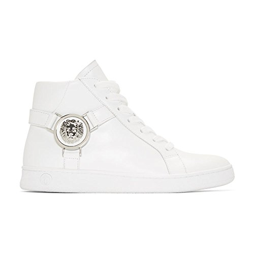 Versace Versus High Top Leather White Trainer 7