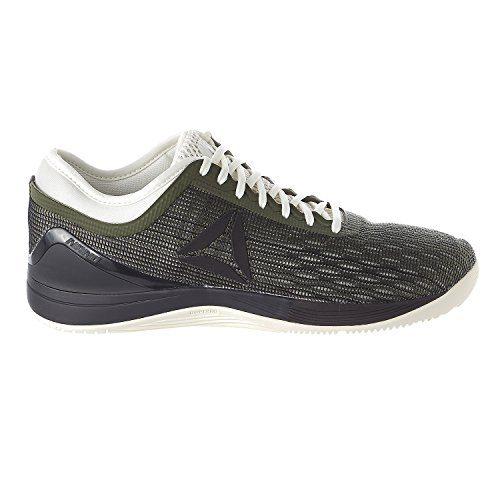 Reebok Men's Crossfit Nano 8.0 Sneaker, Hunter Green/Coal/Chalk, 8.5 M US