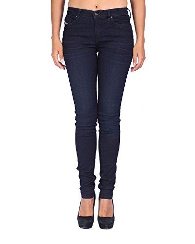 Diesel Women's Jeans Skinzee - Super Slim Skinny - Blue (Navy), W26/L32