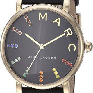 Marc by Marc Jacobs Women's MJ1591 - Roxy 36mm Gold Tone/Black One Size