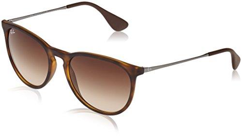 Ray Ban Erika Women's Wayfarer Sunglasses,Rubber Havana, 54mm