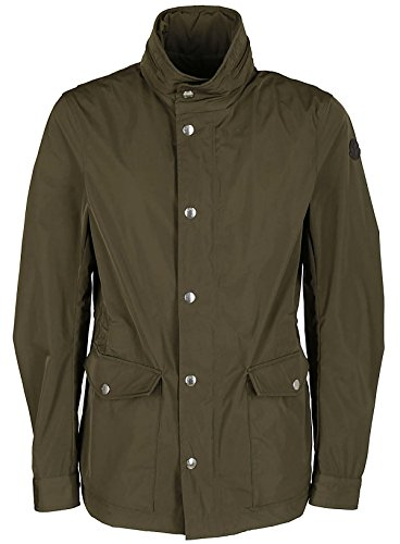 Moncler Men's Green Polyamide Coat