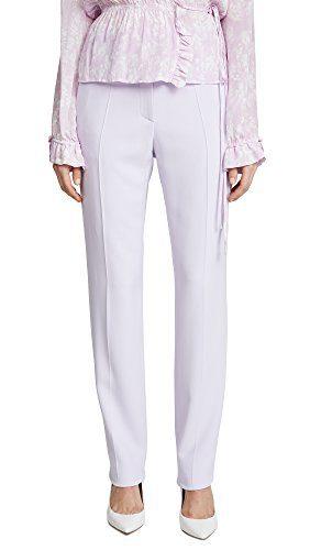 Roberto Cavalli Women's Woven Pants, Wisteria, 44