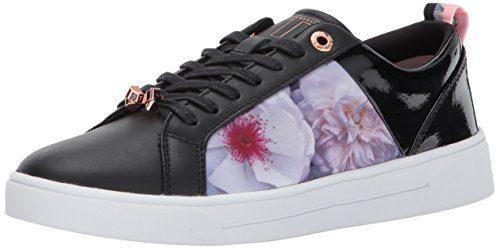 Ted Baker Women's Fushar Sneaker, Black Chelsea, 10 M US