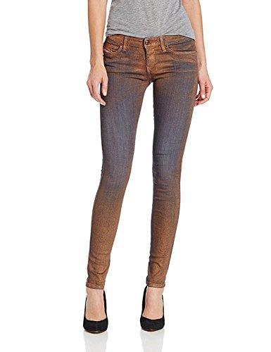Diesel Women's Skinzee Super Skinny-Leg Jean (Blue 307, 23)