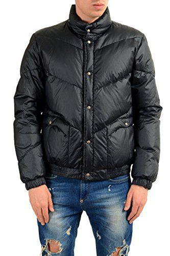 Moncler Men's LINTAN Black Down Parka Jacket Sz 3 US M