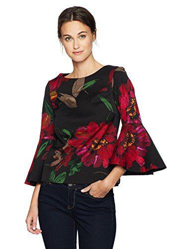 Trina Turk Women's Splendid Top, Multi, S