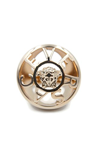 Versace Logo & Medusa Over Sized Women's Statement Cocktail Ring