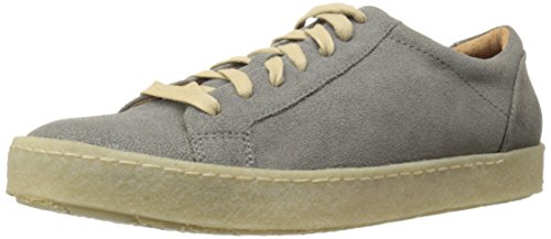 John Varvatos Men's Mick Crepe Low Top Fashion Sneaker, Concrete, 9 M US