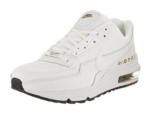 Nike Men's Air Max LTD 3 Prem Summit White/Summit White Running Shoe 11.5 Men US