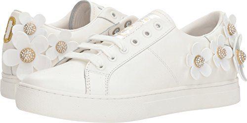 Marc Jacobs Women's Daisy Sneaker, White, 39 M EU (9 US)