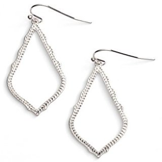 Kendra Scott Signature Sophia Drop Silver Earrings