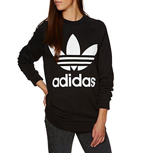 adidas Originals Oversized Pullover Hoody 10 reg Black
