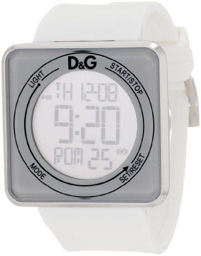 D&G Dolce & Gabbana Women's High Contact White Dial & Strap Touch Screen Watch