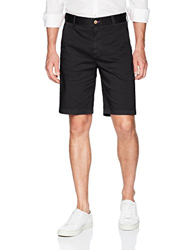 Robert Graham Men's Pioneer Woven Short, Black, 32