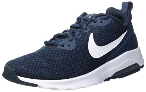 NIKE Men's Air Max Motion Low Cross Trainer, Armory Navy/White, 7.0 Regular US