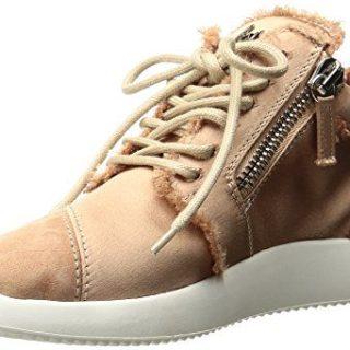 Giuseppe Zanotti Women's Fashion Sneaker, Flesh, 6 M US