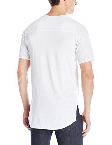 2b3aab91700e67 Home Shop Men Clothing T-Shirts & Tanks Publish Brand INC. Men's Short  Sleeve Raglan Crew Neck T-Shirt, White, Medium