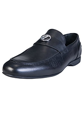 Versace Mens Slip Ons Shoes Size UK7/EU41 Black
