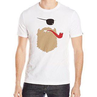 Original Penguin Men's Short Sleeve Bearded Captain Tee, Bright White, XX-Large