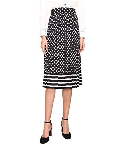 Kate Spade dot Stripe Pleated Skirt (4)