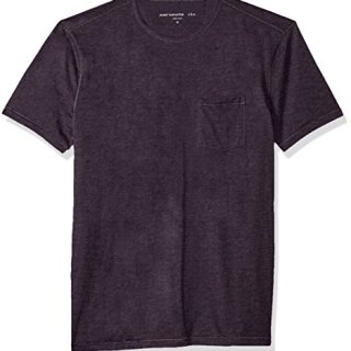 John Varvatos Men's Short Sleeve Crew Neck, Dusty Violet, Extra Large