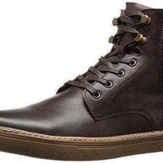 Joe's Jeans Men's Blunt Fashion Sneaker, Brown, 10.5 M US