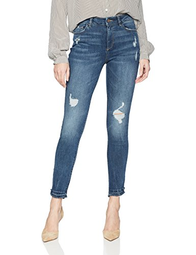 Women's Farrow Instaslim High Rise Skinny Jeans, Crater Lake, 27