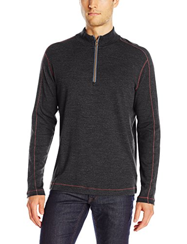 Robert Graham Men's Elia, Dark Charcoal, Medium