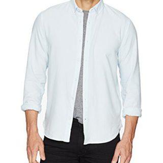 Joe's Jeans Men's Classic Woven Shirt, Cold Granite, M