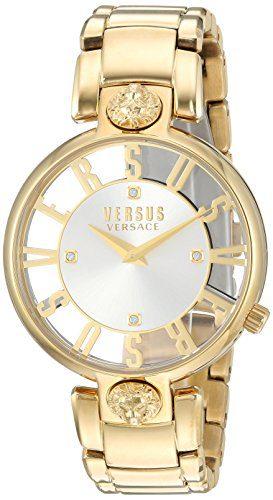 Versus by Versace Women's 'KRISTENHOF' Quartz Tone and Gold Plated Watch