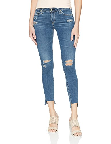 AG Adriano Goldschmied Women's The Legging Ankle Super Skinny Jean, Years Seamist Destructed, 27