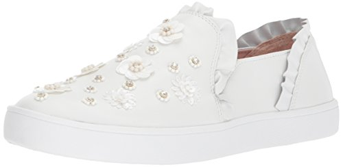 Kate Spade New York Women's Louise Sneaker, White, 8.5 M US