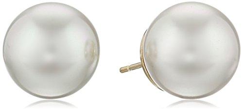 Majorica 12mm Pearl Stud Earrings