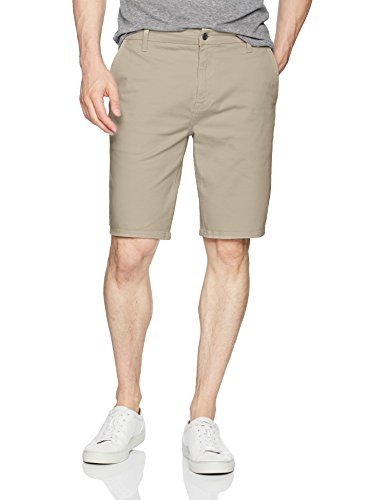 Joe's Jeans Men's Kinetic Brixton Trouser Short Jean in Stevenson Colors, New Ecru, 34