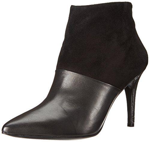Trina Turk Women's Marmont Boot,Metallic Black,5 M US