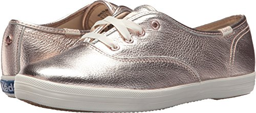 Keds x kate spade new york Women's Champion Rose Gold Metallic Leather 7 M US