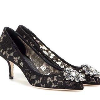 Dolce Gabbana Women's Fashion Pumps Black EU 39 (9 B(M) US)