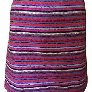 Kate Spade New York Women's Haute Stuff Stripe Textured Tweed Skirt, Multi, 2