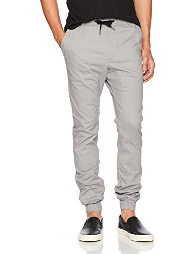 Zanerobe Men's Sureshot Jogger, Cement, 34