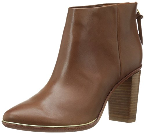 Ted Baker Women's Lorca 3 Lthr AF Casual Boot Ankle Bootie, Dark Tan, 8.5 M US